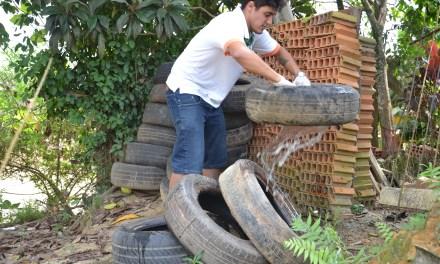 Força-tarefa contra mosquito da dengue teve participação de 200 pessoas