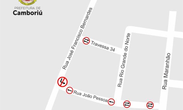 Trecho de Rua no Bairro Lídia Duarte passa a ter sentido único