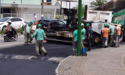 Requalificação do trecho final da Avenida Martin Luther continua nesta quinta-feira