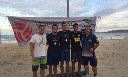 Atletas de Itapema vencem I Etapa do Circuito Catarinense de Vôlei de Praia