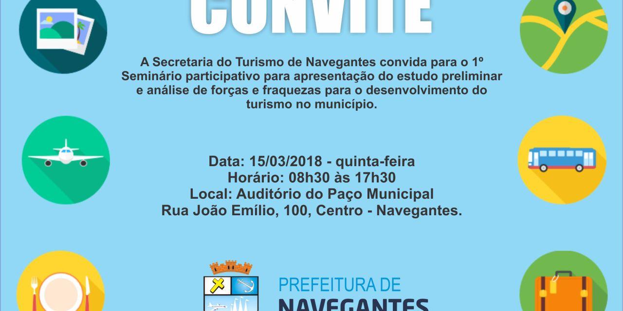 1º SEMINÁRIO PARTICIPATIVO ACONTECE NESTA QUINTA-FEIRA (15)