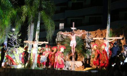 Praça da Paz será palco da Encenação da Paixão de Cristo
