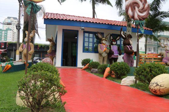 Casinha do Coelho segue aberta para visitação do público