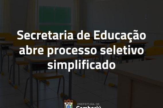 Secretaria de Educação abre processo seletivo simplificado para contratação de professor de inglês