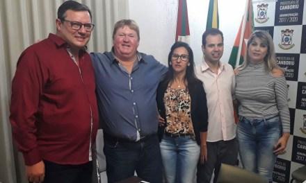 Prefeituras de Camboriú e Braço do Trombudo discutem possibilidade de convênio