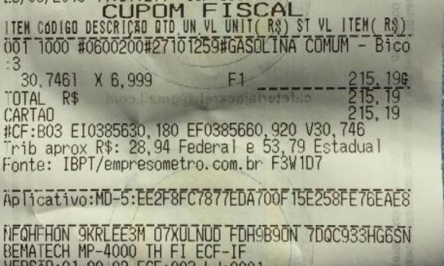 Posto vende gasolina a R$6,99 em Tijucas e é autuado