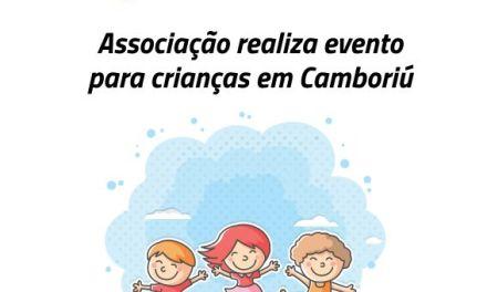 Associação realiza evento para crianças em Camboriú