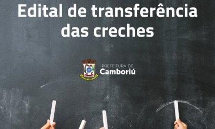 Secretaria de Educação divulga edital para transferência de CEIs