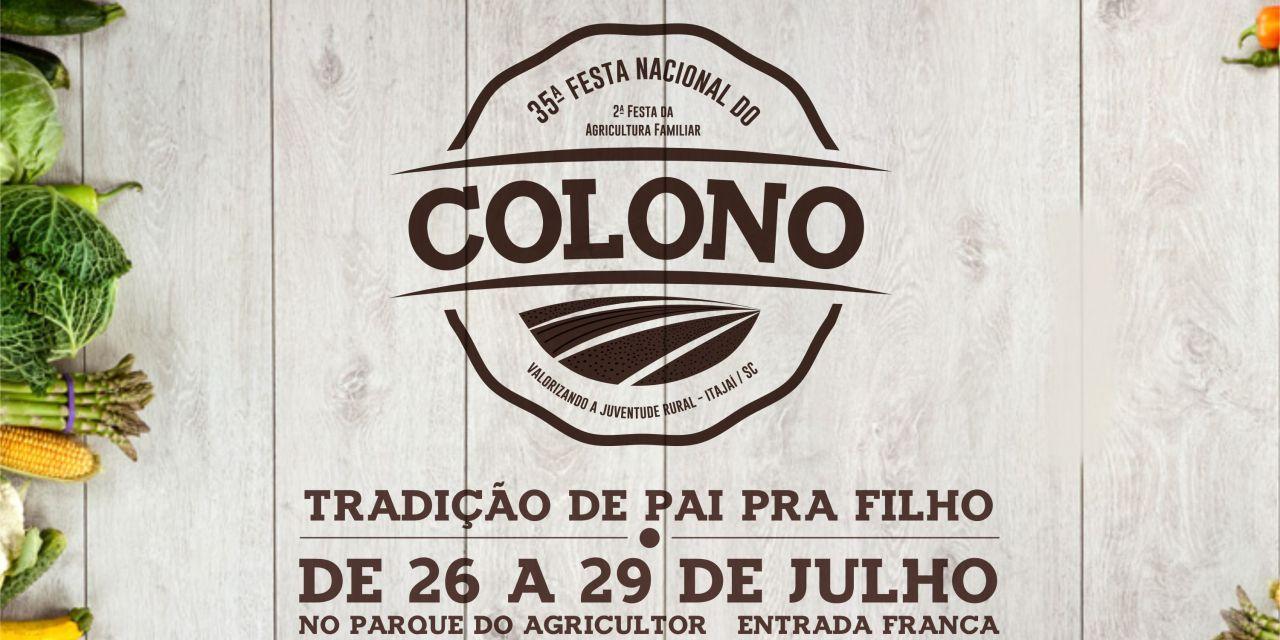 Começa amanhã a 35ª Festa Nacional do Colono
