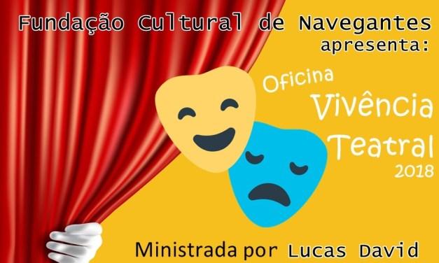 Projeto cultural incentiva Arte Cênica em Navegantes