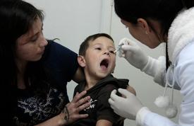 Saúde já aplicou mais de duas mil doses das vacinas contra sarampo e poliomielite