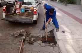 Limpeza de bocas de lobo é intensificada no Centro de Balneário Camboriú
