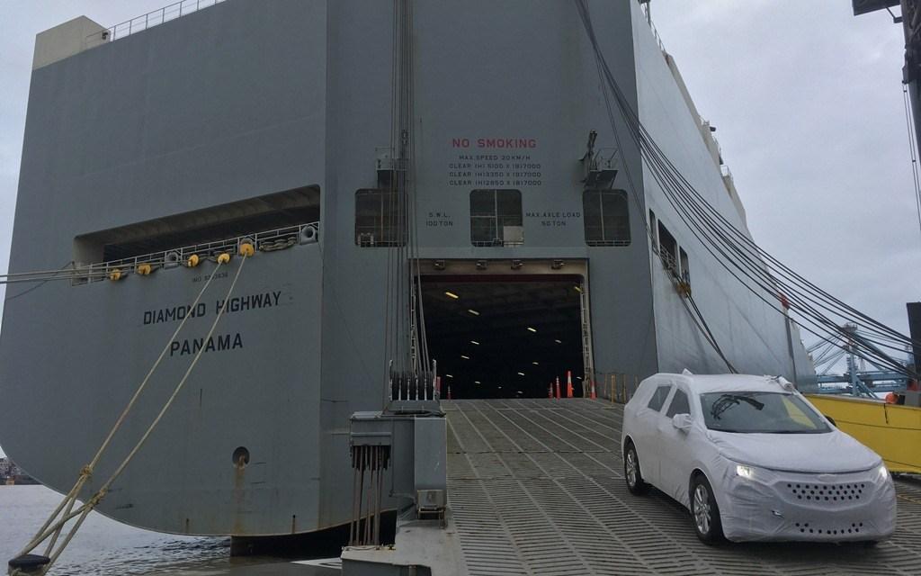 Porto de Itajaí conclui a quinta operação teste de veículos importados