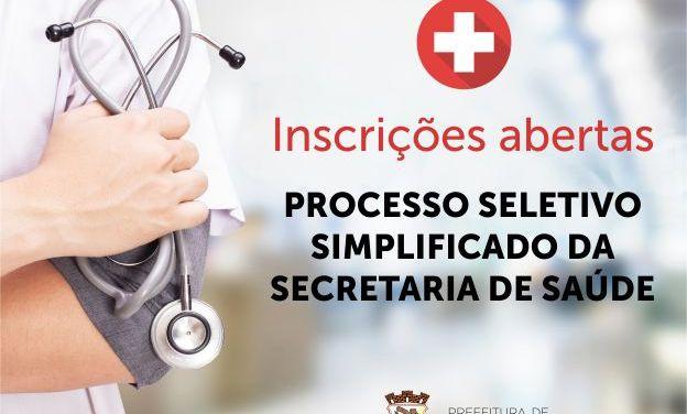 Secretaria de Saúde de Camboriú abre processo seletivo simplificado