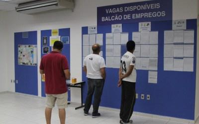 Balcão de Empregos oferece número recorde de vagas