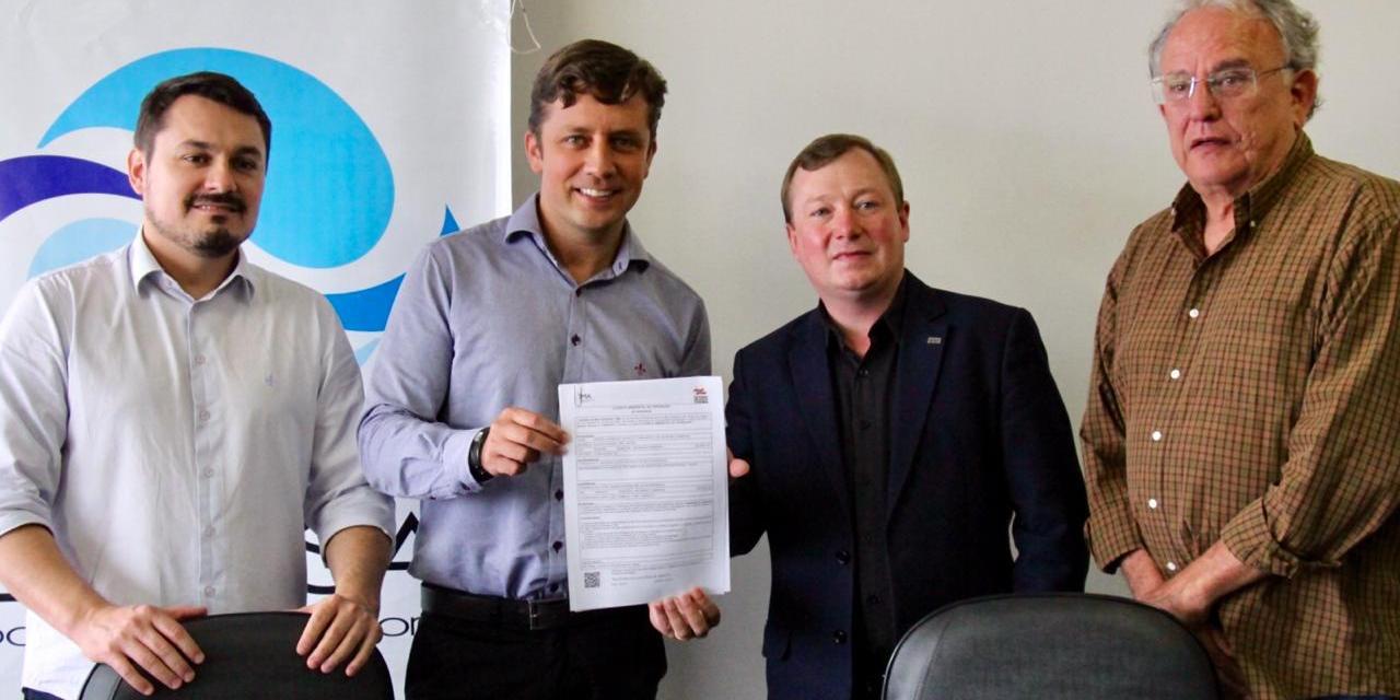 Balneário Camboriú recebe Licença Ambiental de Operação da ETE Nova Esperança