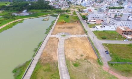 Parte urbanística do Parque Linear está adiantada