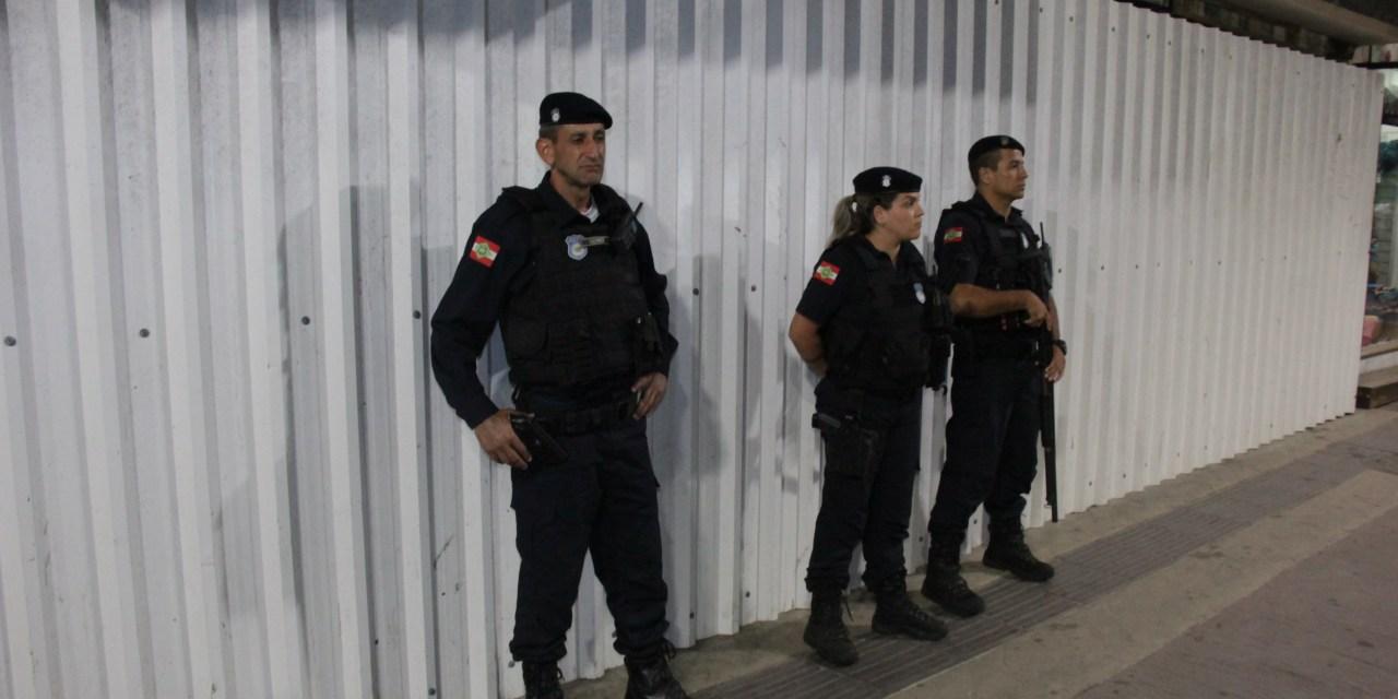 Operação Conjunta reforça a segurança na região Central de Balneário Camboriú