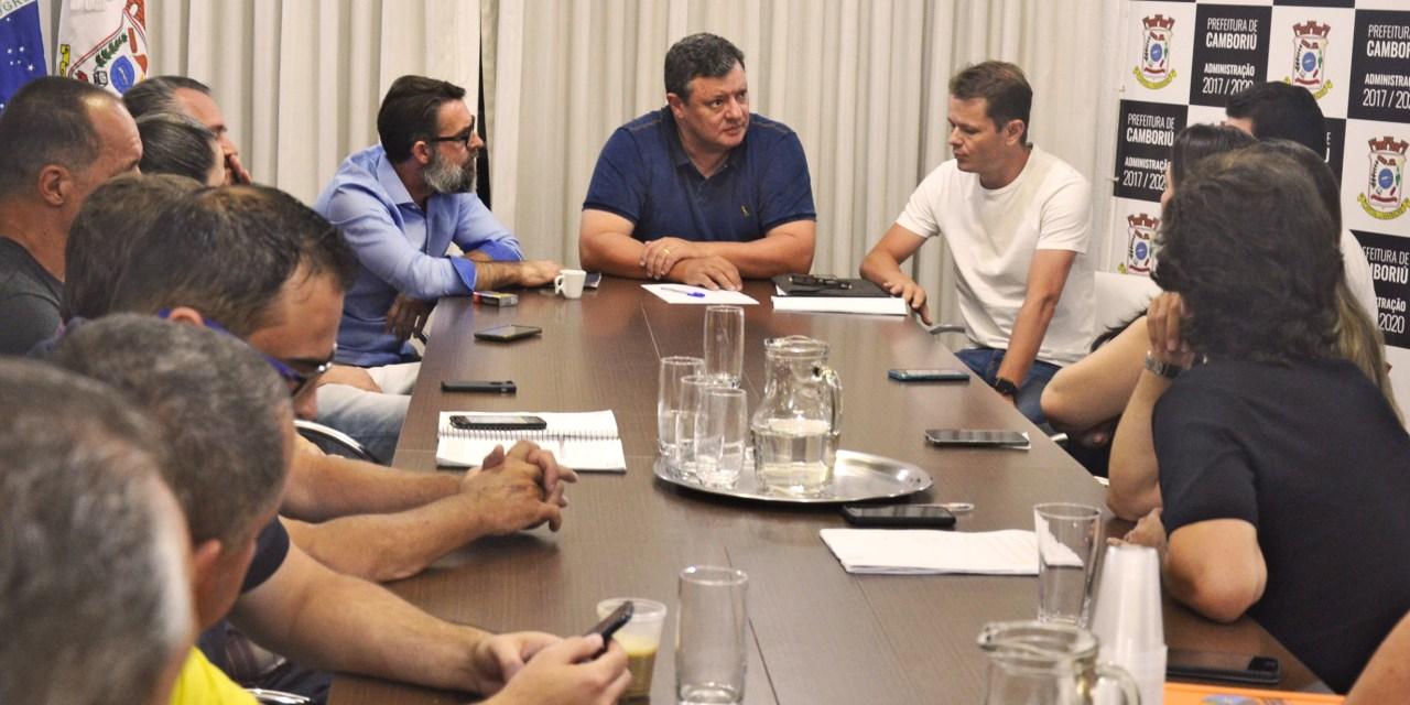 Prefeito de Camboriú e Acibalc discutem construção de nova sede