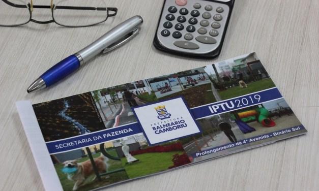 Carnês do IPTU de Balneário Camboriú começam a ser entregues dia 02 de janeiro