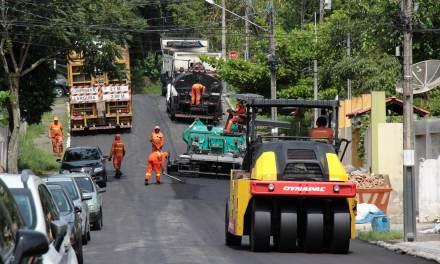 Requalificação das Vias está na Região Sul