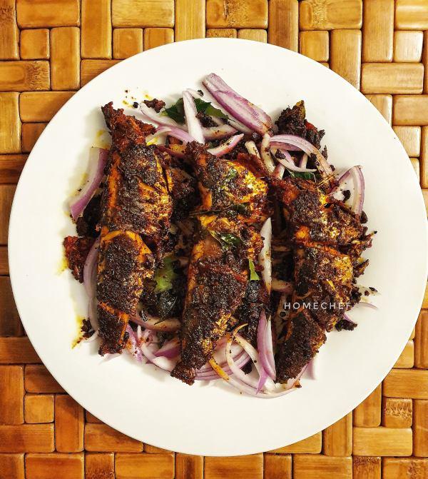 Sardine Fish Fry / Mathi Varuthathu