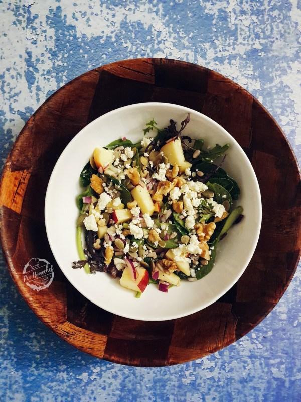 Spiced Apple Salad
