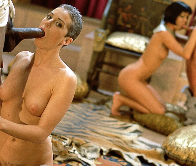 Bambie Bangs A Black Rod In This Egyptian Fantasy Flick