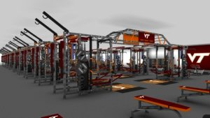 Tech Football strength and conditioning area to undergo renovation, expansion