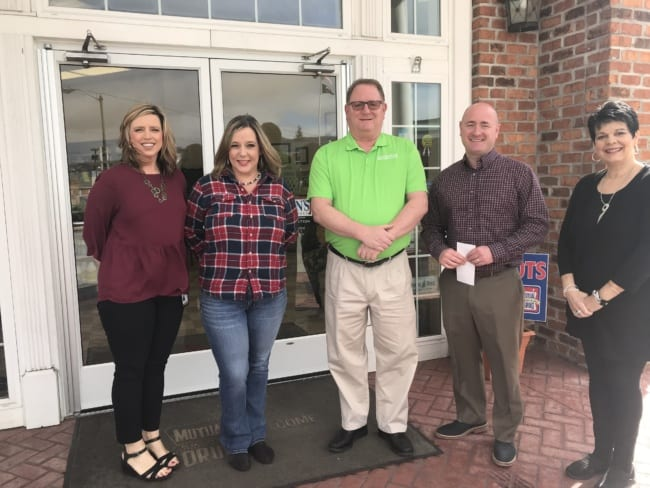 Martin's donates $1,000 to PCHS After Prom Party
