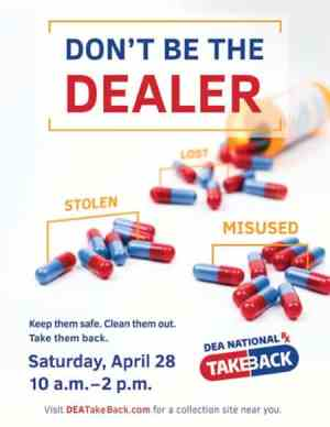 Pulaski PD to participate in Drug Take Back Day April 28 at Food City