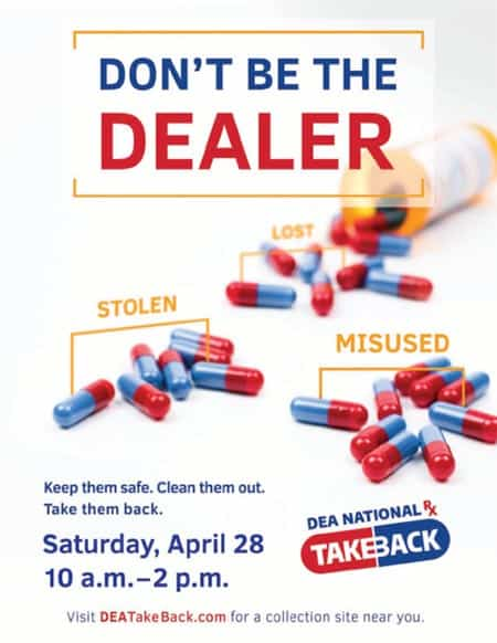 Pulaski PD to participate in Drug Take Back Day April 28 at Food City