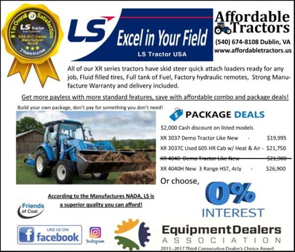 Check out these specials at Affordable Tractor in Dublin