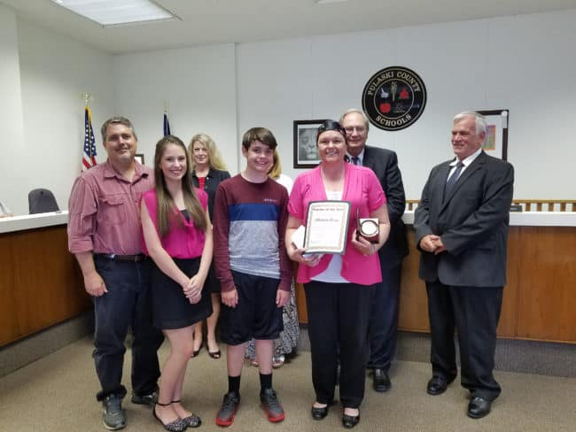 Pulaski County's Teacher of the Year for 2018
