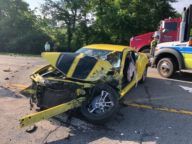 Dublin woman dies in early morning crash on Route 11