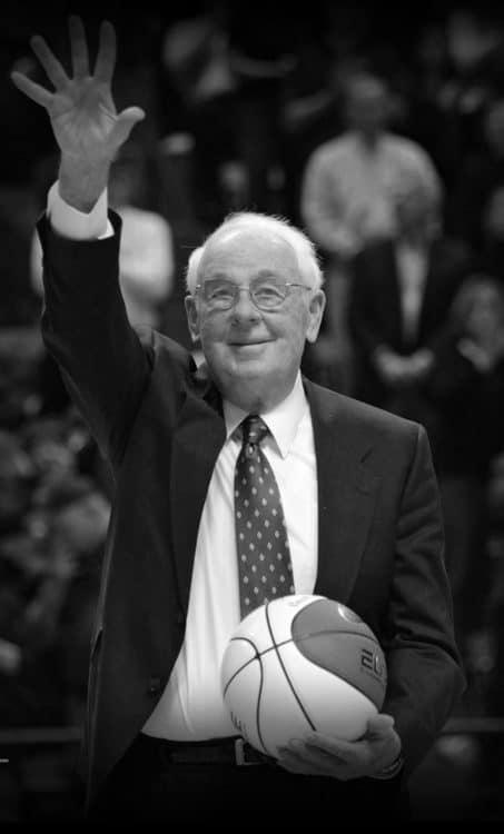 Hokies winningest basketball coach, Charlie Moir, dies early today at 88
