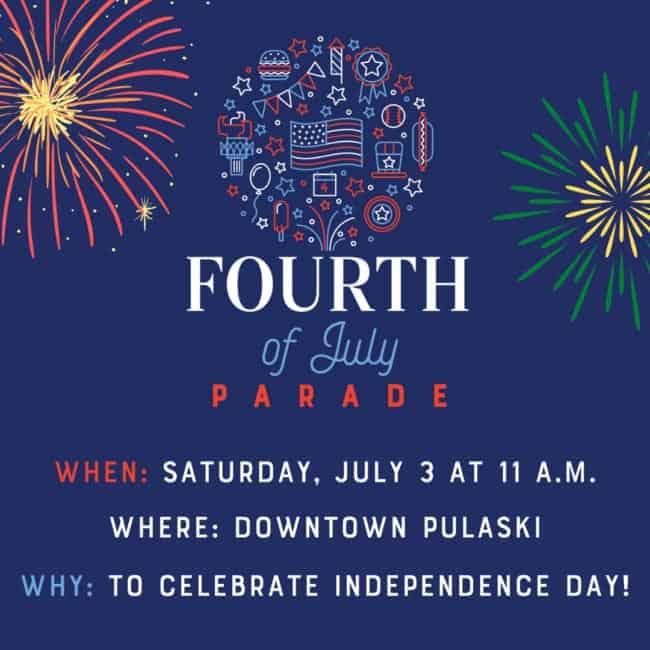Town of Pulaski July 4th Parade