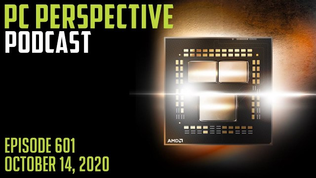PC Perspective Podcast #601 – Ryzen 5K is Coming! WD PCIe G4 SSD, a tad of iPhone 12, FAAAST reviews plus way more!! 2