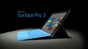 La tablette PC Microsoft Surface Pro 3