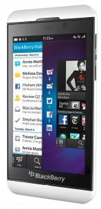 Blackberry Z10 Cena: 629 evra Dimenzije: 130 x 66 x 9 milimetara Masa: 136 grama dobro opremljen,  veliki kapacitet zahvaljujuću Hub‑u,  univerzalan u komunikaciji zaista odlična virtuelna  tastatura oko 70.000 aplikacija ponuđeno uz novi operativni sistem prijatan za rukovanje, udoban za korišćenje jednom rukom kamera je, u najboljem slučaju, prosečna
