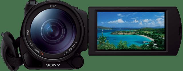 Sony AX100 4K Camcorder