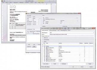 Poslovni objekat izlazna faktura sa poslovnim podacima i generisanim dokumentom