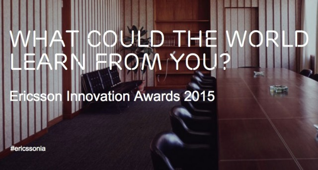 Ericsson Innovation Awards 2015