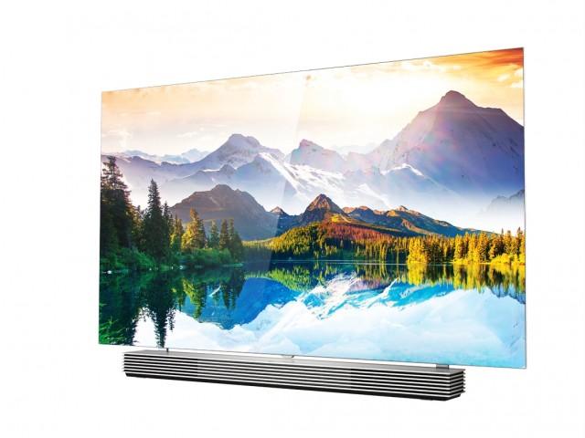 Jedan od modela iz nove LG 4K OLED linije