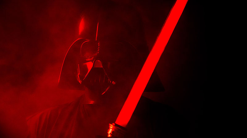Darth Vader light saber