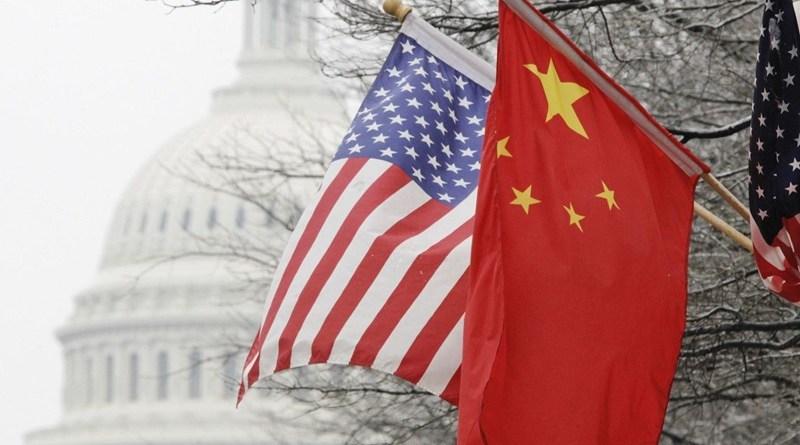 kina i amerika zastave