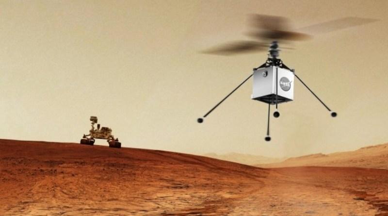 Misija na Marsu helikopter