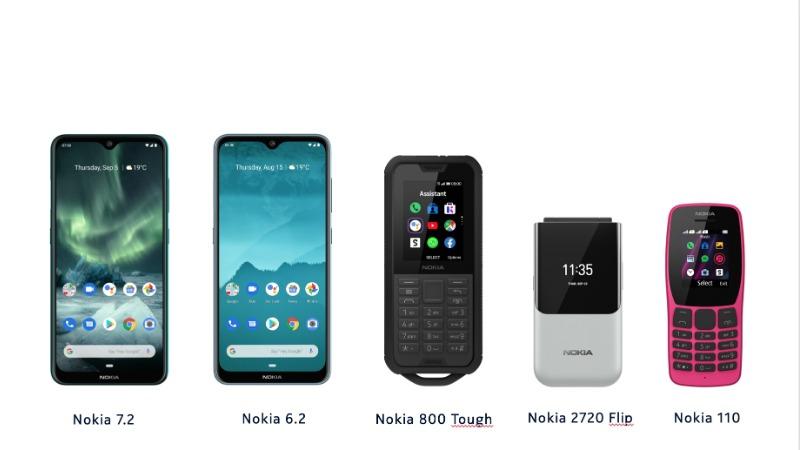 Predstavljeni novi Nokia telefoni