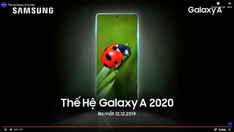 Samsung Galaxy A (2020) telefoni stižu 12. decembra