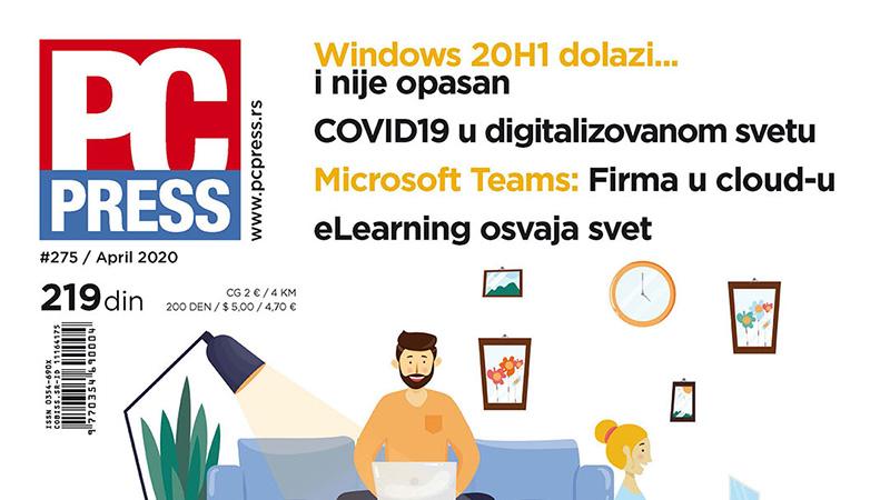 PC #275 dostupan na kioscima i u digitalnoj čitaonici